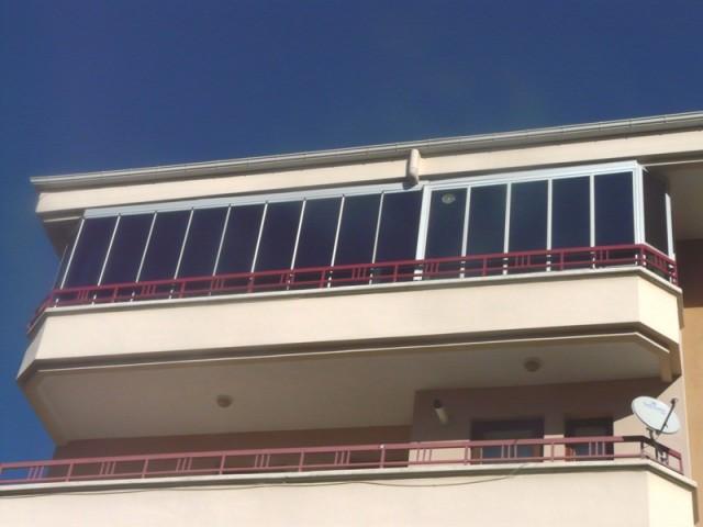 Isıcamlı Cam Balkon Sistemi